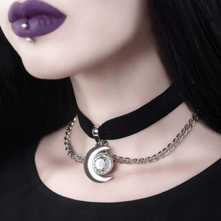 Killstar Choker - Moonstone