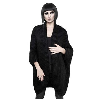 Killstar offene Strickjacke - Angelica Cocoon Cardigan