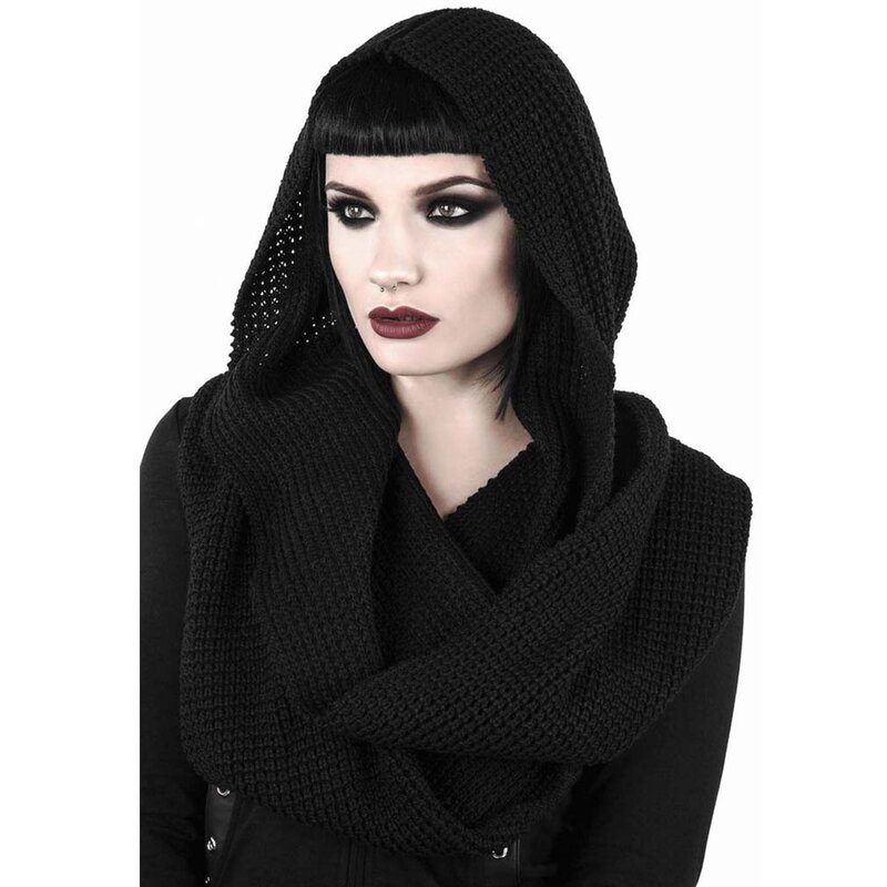 Killstar Hooded Scarf - Helsinki Hood