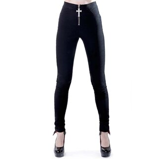 Killstar Stretch Trousers - Ramona