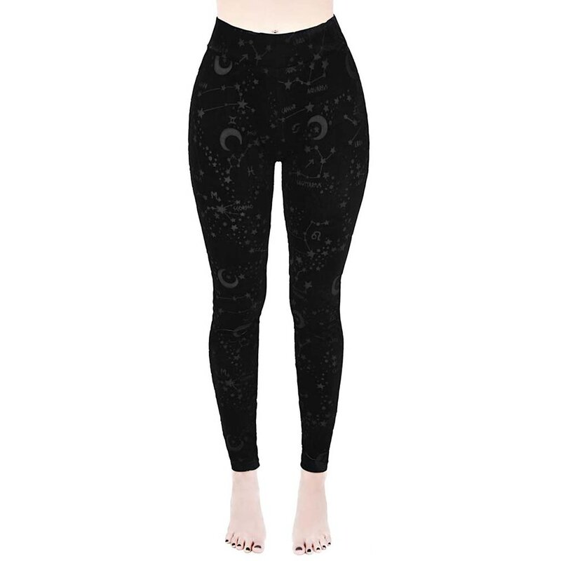 Killstar Velvet Leggings - Perseus