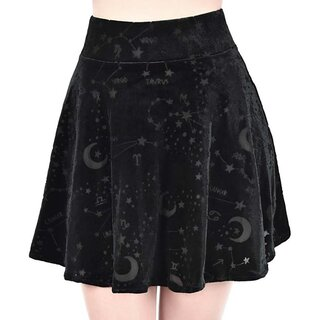 Killstar Velvet Mini Skirt - Cordelia