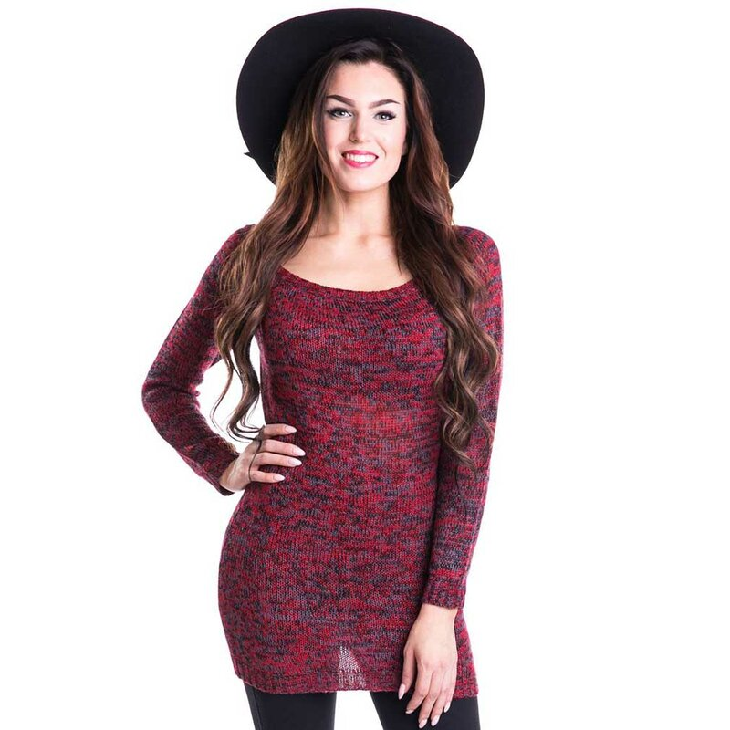 Innocent Lifestyle Langarm Stricktop - Hena Rot XL