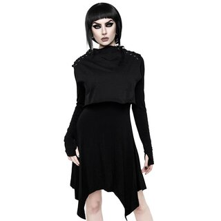 Killstar 2-in-1 Kleid mit Crop Top - Chalice
