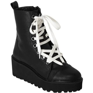 Killstar Platform Sneakers - Tomb Travel Boots