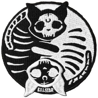 Killstar Iron-On Patch - Purrturnal