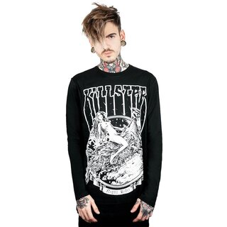 Killstar Langarm T-Shirt - Night Rider M
