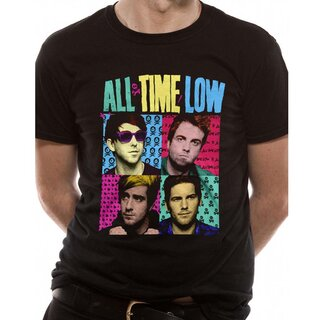 All Time Low T-Shirt - Pop Art
