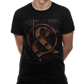 Of Mice & Men T-Shirt - Wired