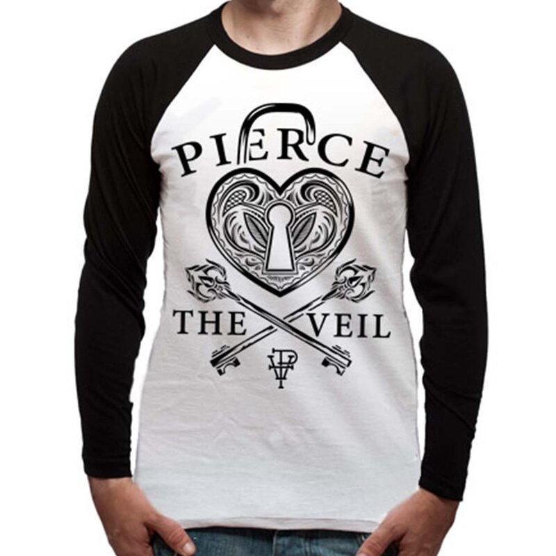 Maglietta raglan a maniche lunghe Pierce The Veil - Heartlock