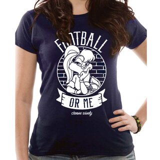 Looney Tunes Damen T-Shirt - Football Or Me