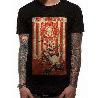 Looney Tunes T-Shirt - Tour Poster