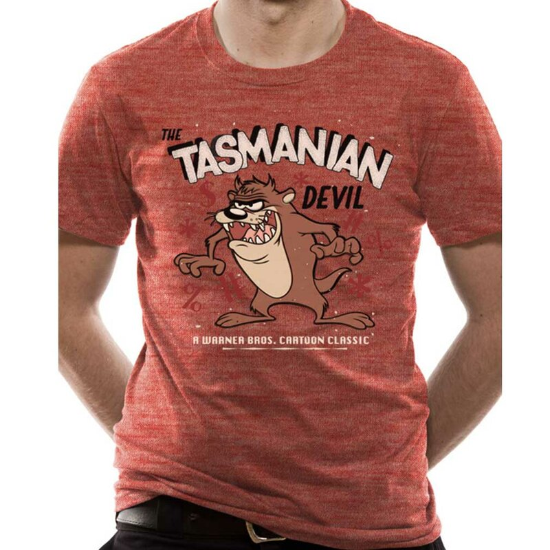 Looney Tunes T-Shirt - Tasmanian Devil L