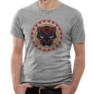 Black Panther T-Shirt - Circle Logo