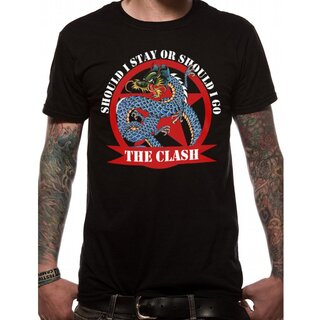The Clash T-Shirt - Should I Stay Dragon