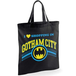 Batman Tote Bag - Shopping In Gotham