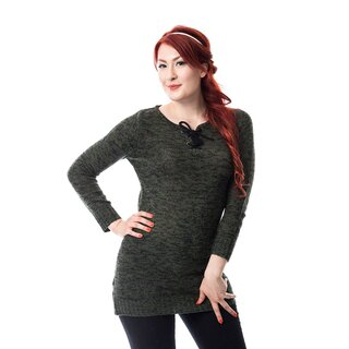 Innocent Lifestyle Knitted Mini Dress - Lana Olive