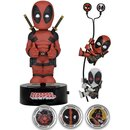 Deadpool Set regalo - Body Knocker, cuffie, 2 scaler e 3 hubsnaps
