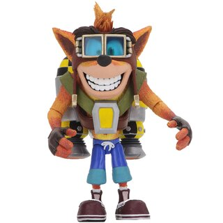 Crash Bandicoot Action Figure - Deluxe Crash with Jet Pack