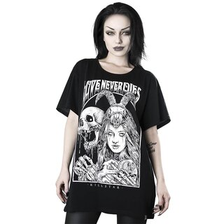 Killstar Relaxed Top - Love Never Dies
