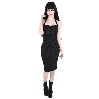Killstar Midi Pencil Dress - Bloodlust