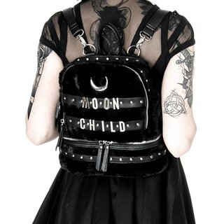 Restyle Mini Rucksack- Moon Child Kunstfell
