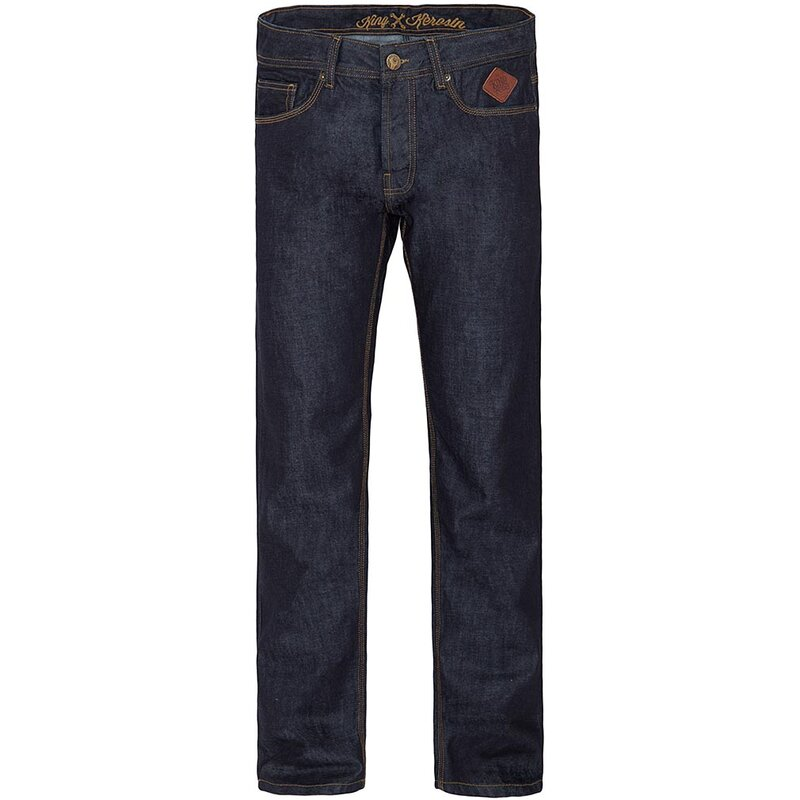 King Kerosin Jeans Hose - New Robin Dark Blue W40 / L36