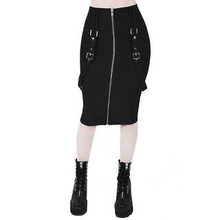 Killstar Pencil Skirt - Force Field