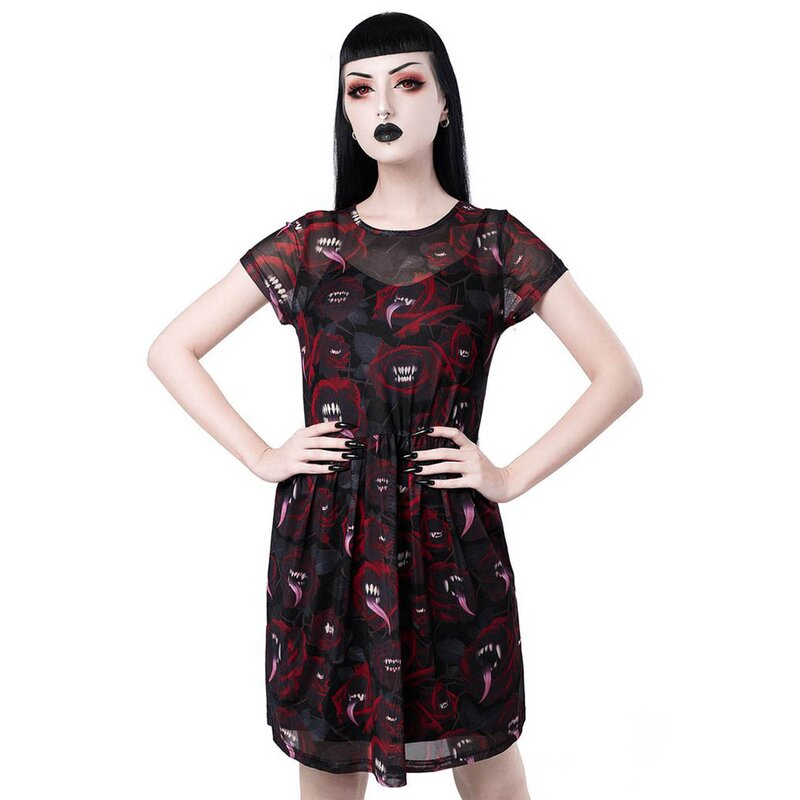 Killstar Skater Kleid - Mary Mesh