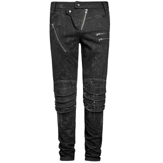 Punk Rave Jeans Trousers - The Smog
