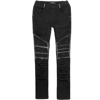 Punk Rave Jeans Trousers - Mad Max