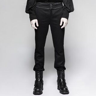 Punk Rave Victorian Trousers - Black Cardinal