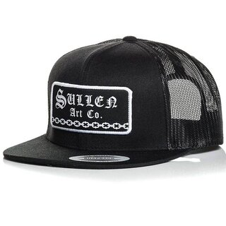 Sullen Clothing Trucker Cap - Hard Time Schwarz