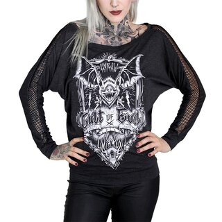 Hyraw Batwing Top - Cult Of Evil