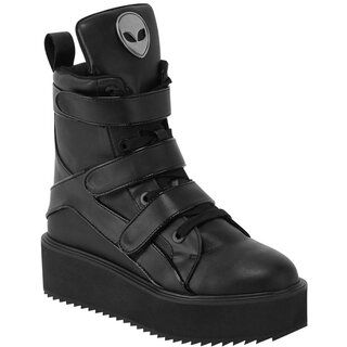 Killstar High Top Sneakers - Shes Out There