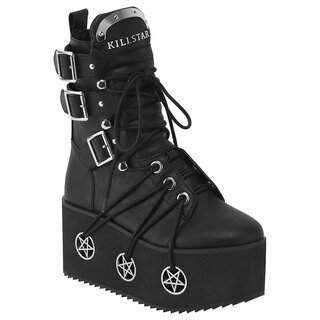 Killstar Plateaustiefel - Hellbound Boots