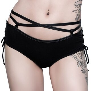 Killstar Damen Slip - Head Banger Hot Pants