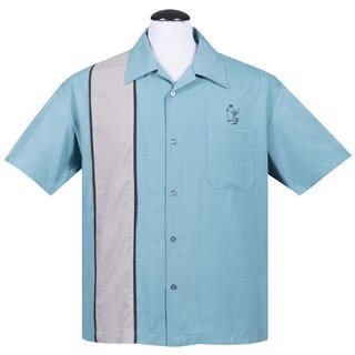 Steady Clothing Vintage Bowling Shirt - Palm Springs...