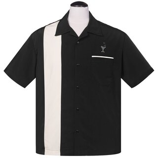 Steady Clothing Vintage Bowling Shirt - Cocktail Lounge...