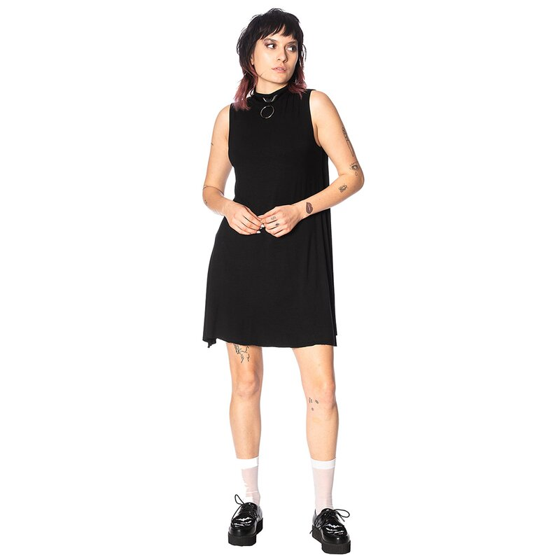 Banned Alternative Mini Dress - O-Ring