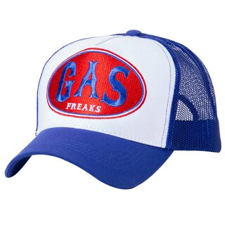 King Kerosin Trucker Cap - Gas Freaks Blau