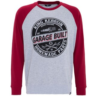 King Kerosin Raglan Pullover - Garage Built
