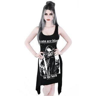 Killstar Tank Dress - Black Cats