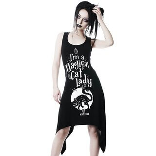 Killstar Tank Kleid - Cat Lady
