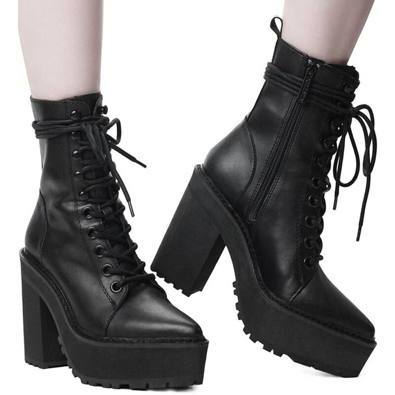 Killstar Plateaustiefel - Salem City 42