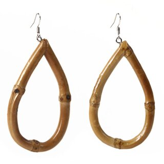 Voodoo Vixen Earrings - Frannie Bamboo