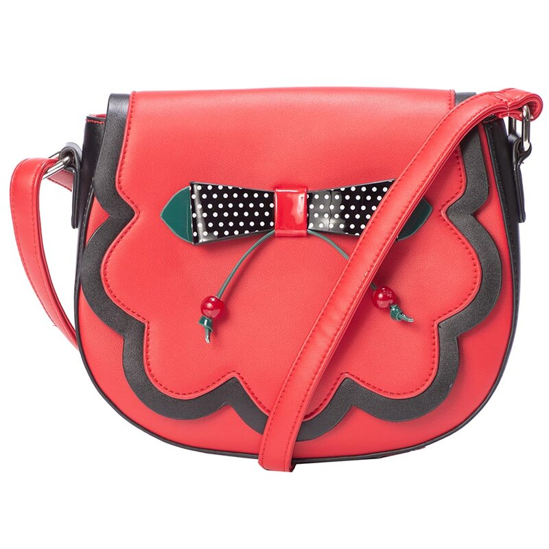 Banned Retro Handbag - Marilou Red