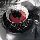 Killstar Tea Cup with Saucer - Cosmic