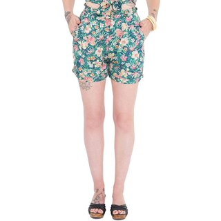 Queen Kerosin Shorts - Tropical