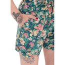 Queen Kerosin Shorts - Tropical XS